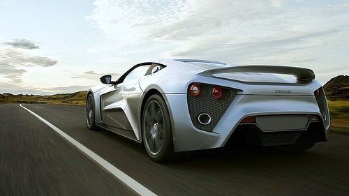 23 В Дании создан суперкар Zenvo, пересекающий страну за 18 минут