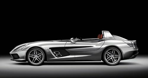 425 Презентация McLaren SLR Stirling Moss пройдет на автосалоне в Детройте