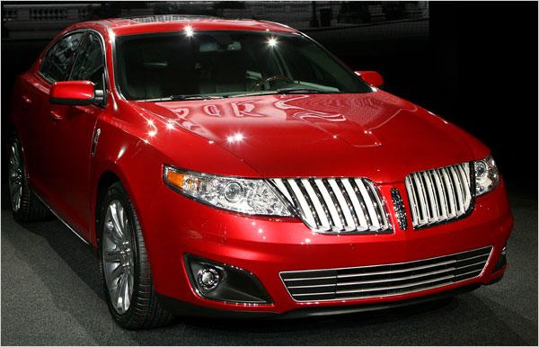 600_lincoln_mks1 5 самых «продвинутых» автомобилей 2008 года