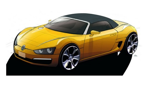 471 Volkswagen показал в Детройте BlueSport