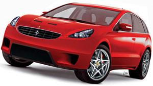 591 Компания Ferrari занялась разработкой своего первого внедорожника