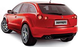 592 Компания Ferrari занялась разработкой своего первого внедорожника