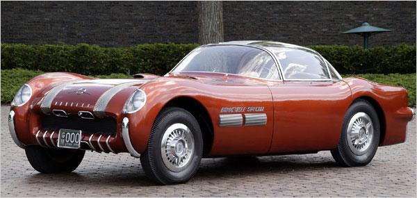 the-1954-pontiac-bonneville-special Концептуальные автомобили 50-х годов от General Motors