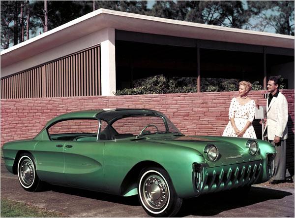 the-1955-chevrolet-biscayne Концептуальные автомобили 50-х годов от General Motors
