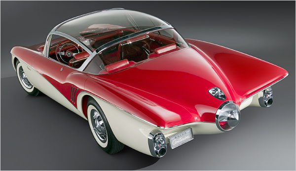 the-1956-buick-centurion Концептуальные автомобили 50-х годов от General Motors