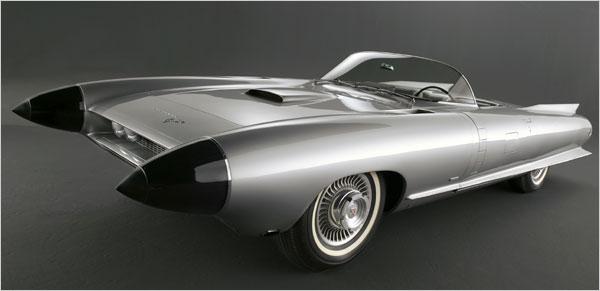 the-cadillac-cyclone Концептуальные автомобили 50-х годов от General Motors