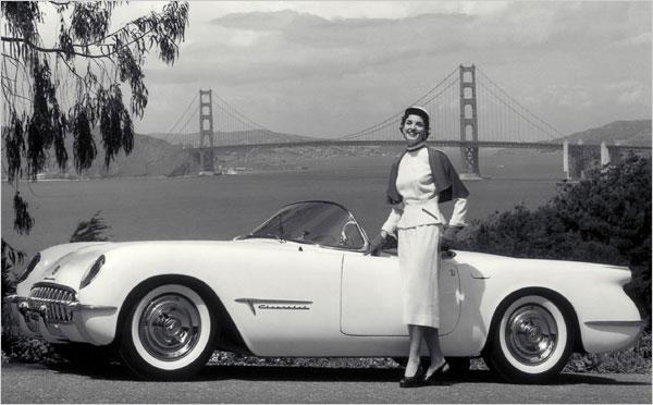 the-chevrolet-corvette Концептуальные автомобили 50-х годов от General Motors
