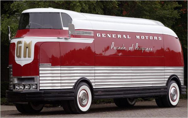 the-futurliner Концептуальные автомобили 50-х годов от General Motors