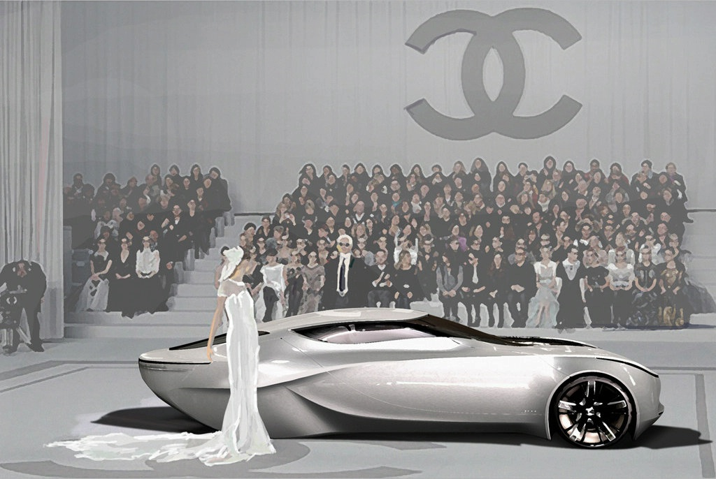 16 Студент из Кореи создал автомобиль Fiore под маркой Chanel