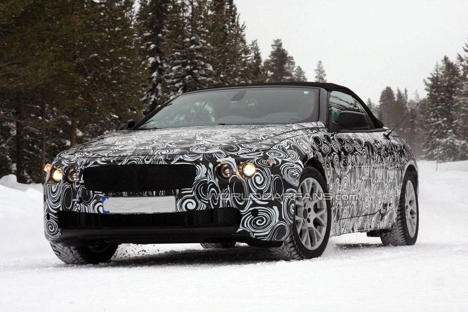 22 BMW провел снежные тесты испытания нового поколения кабриолета 6-й серии 2011 модельного года