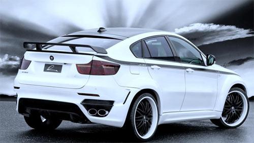34 Ателье Lumma Design тюнинговало BMW X6