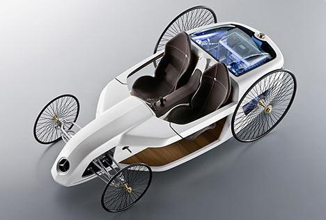 36 F-CELL Roadster: концепт, вдохновленный историей
