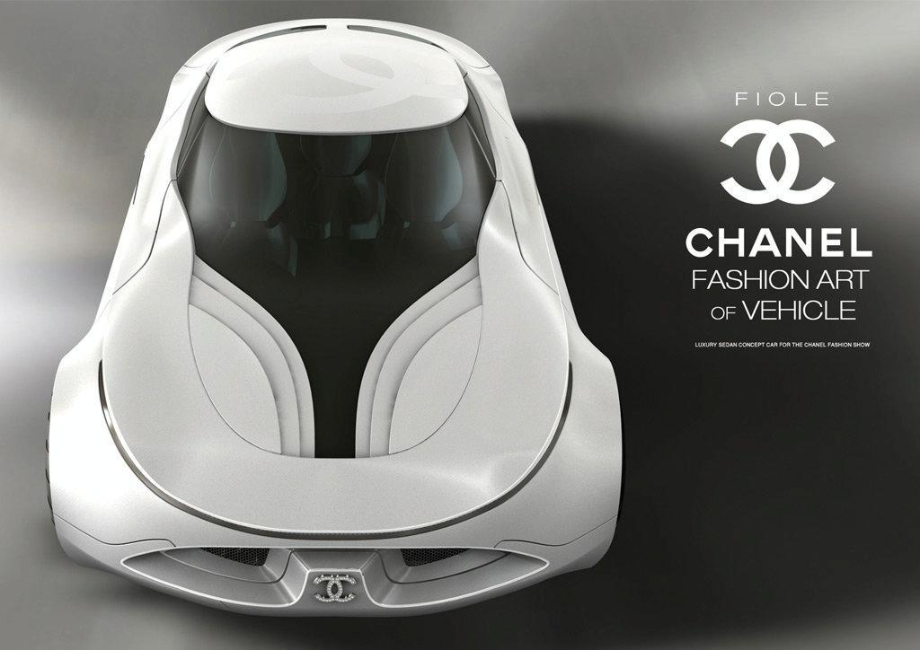 44 Студент из Кореи создал автомобиль Fiore под маркой Chanel
