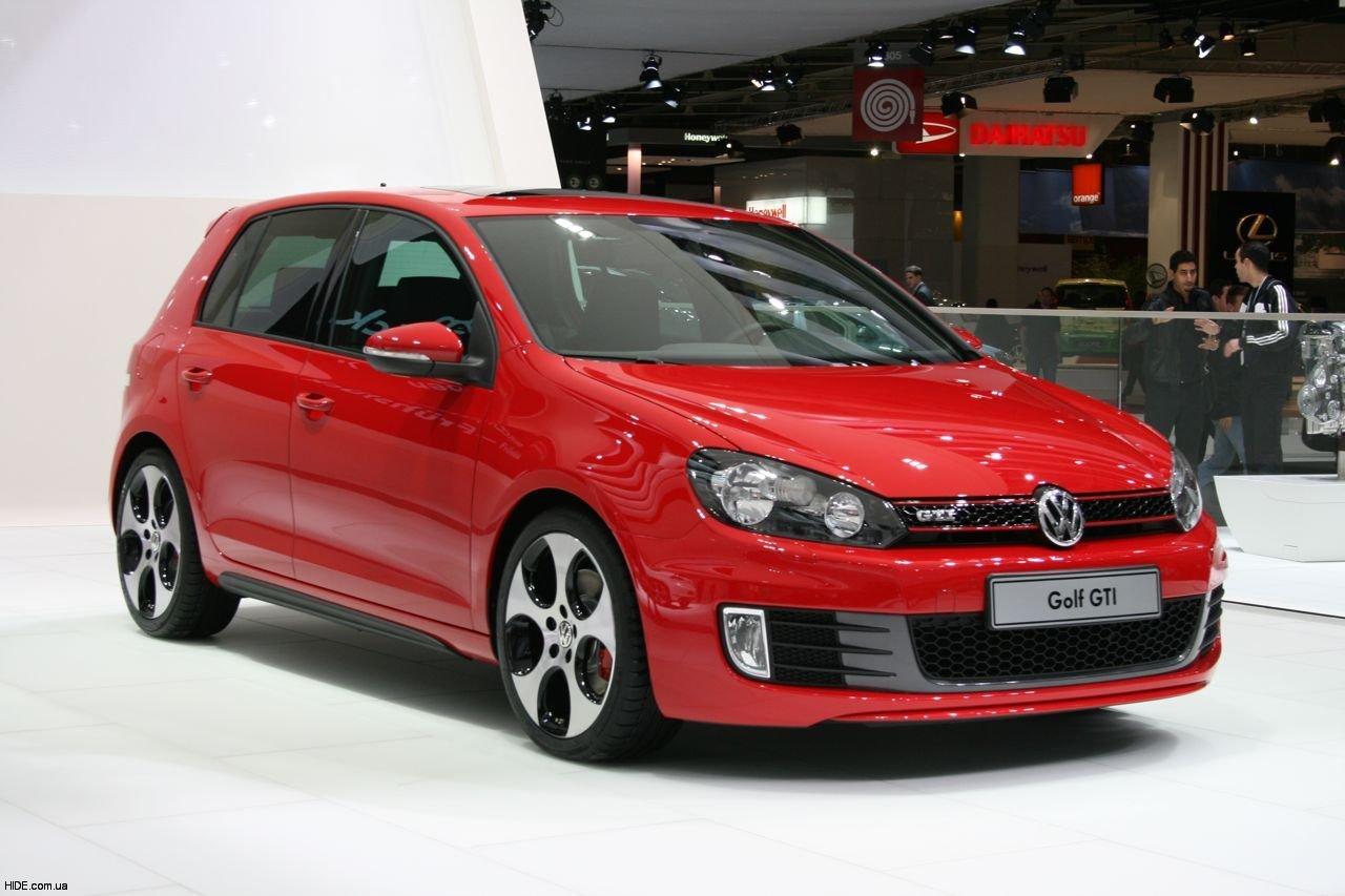 11 Volkswagen Golf шестого поколения стал лучшим автомобилем 2009 года в мире