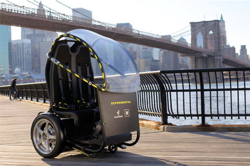 2 General Motors и Segway представили концепт двухколесного автомобиля
