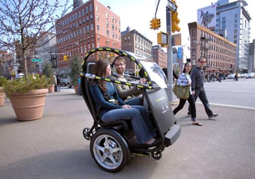 6 General Motors и Segway представили концепт двухколесного автомобиля