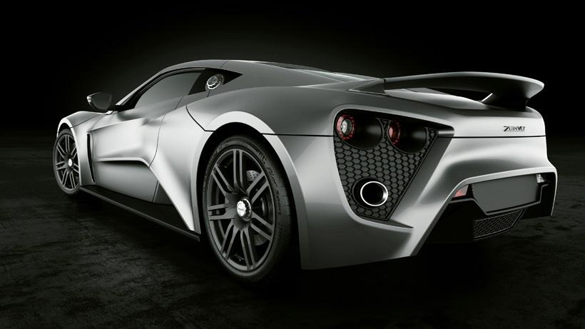 3 В Дании создали самый мощный суперкар Zenvo ST1