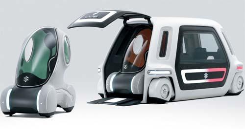 31 Suzuki PIXY: первый в мире «автомобиль-носитель»