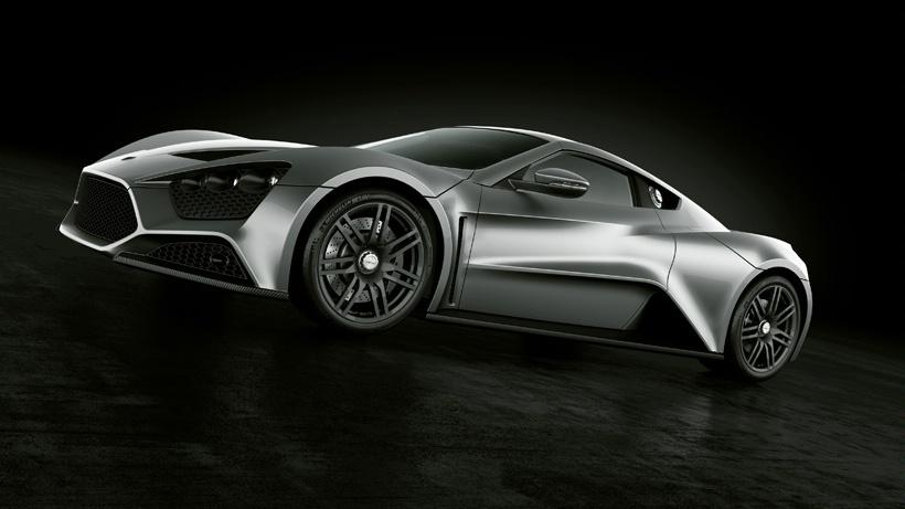 4 В Дании создали самый мощный суперкар Zenvo ST1