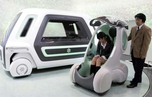 41 Suzuki PIXY: первый в мире «автомобиль-носитель»