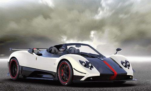 14 Cinque Roadster: новое творение Pagani