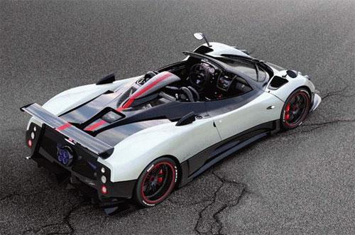23 Cinque Roadster: новое творение Pagani