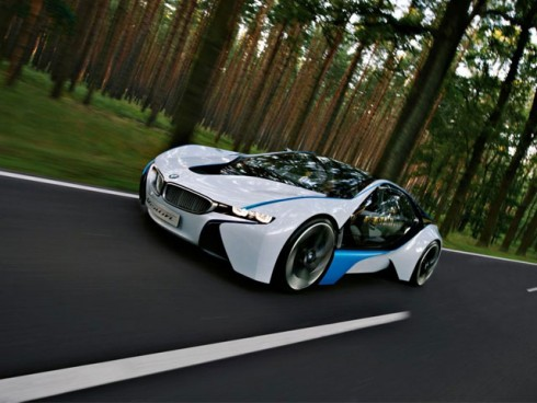 1 BMW представил новый концепт-кар - BMW Vision EffecientDynamycs
