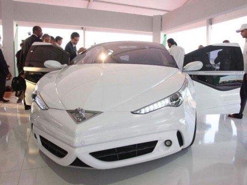 15 Презентация первого ливийского автомобиля