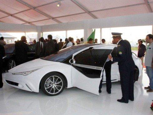 26 Презентация первого ливийского автомобиля