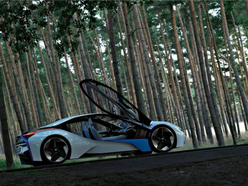 3 BMW представил новый концепт-кар - BMW Vision EffecientDynamycs