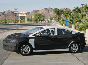 63 Папарацци поймали новую Hyundai Elantra
