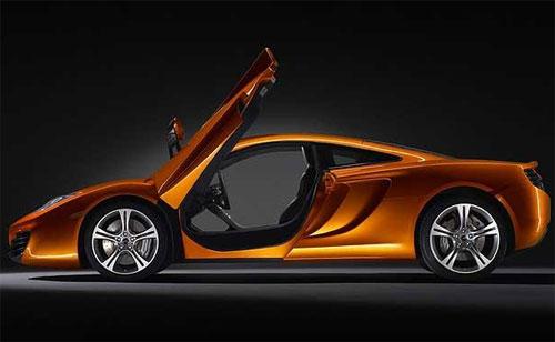 64 McLaren публикует первые официальные снимки нового суперкара