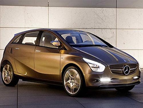 81 Mercedes-Benz везет во Франкфурт новый электрокар