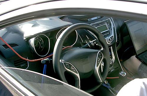 82 Папарацци поймали новую Hyundai Elantra