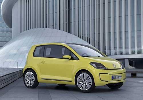 Е-up: производство этого автомобиля собирается наладить Volkswagen