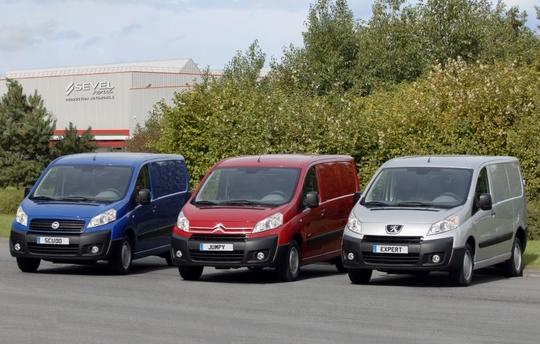 Peugeot, Citroen, Fiat