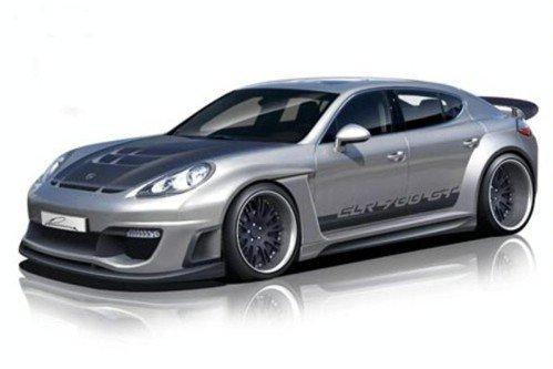 Lumma Design готовит 700-сильный Porsche Panamera
