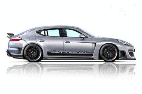 Модернизированный четырехдверный купе Porsche Panamera получил название CLR 700GT
