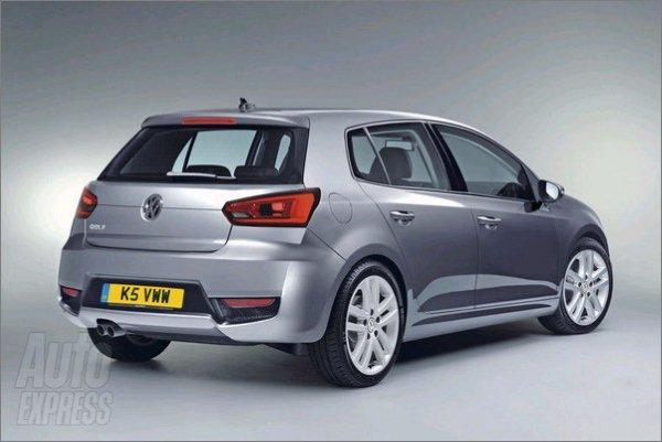 Golf VII должны запустить в серийное производство в 2012 году