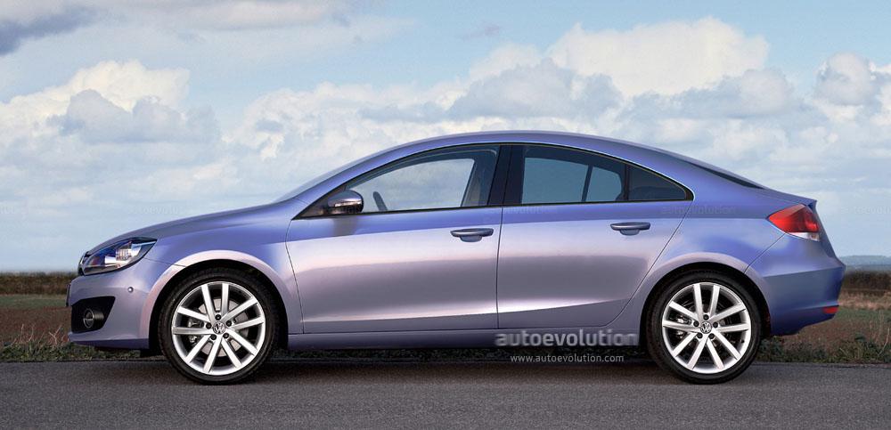 На базе Golf VII компания Volkswagen планирует производить еще одну новую модель - компактный 4-дверный купе