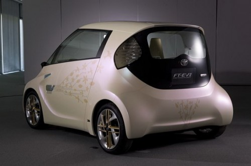 Future Toyota Electric Vehicle