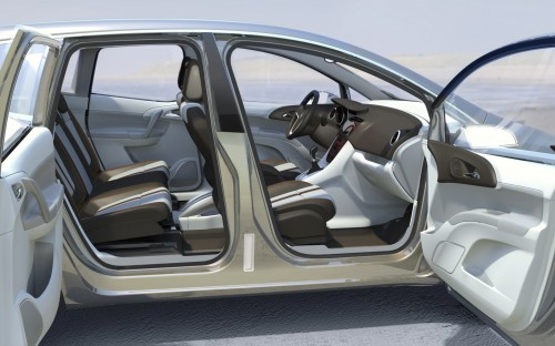 Внутренний концепт Opel Meriva