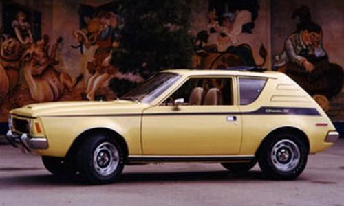 Первая американская малолитражка AMC Gremlin, хоть и обладал отличными спортивными качествами, однако тоже попала в список уродливых машин