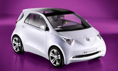 Новичок на рынке - миникар Toyota iQ