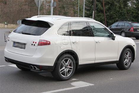 porsche Появились шпионские фото нового Porsche Cayenne