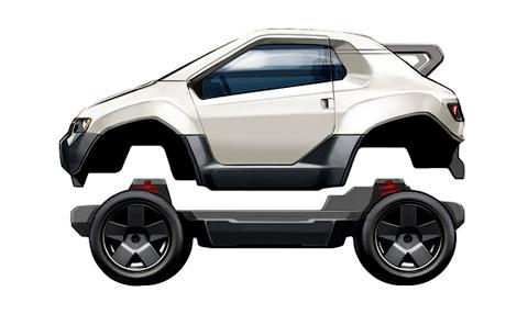 13 Компания Trexa поможет всем желающим построить собственный электромобиль