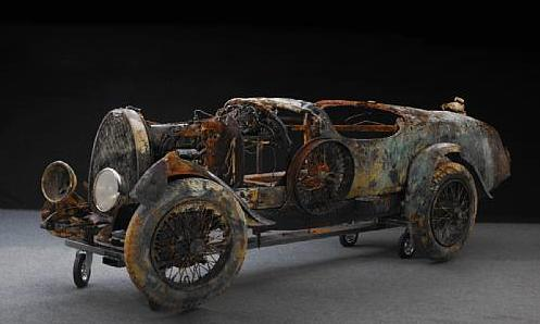 Ржавый остов автомобиля-утопленника был продан за 260 тысяч евро