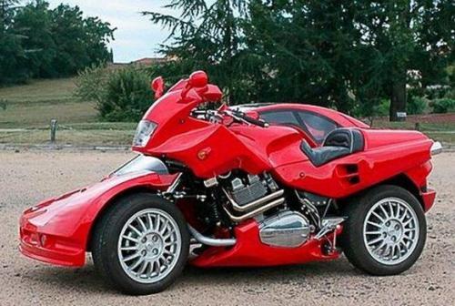 ferrari-car-bike-hybrid-01 Ferrari: мотоцикл-автомобиль