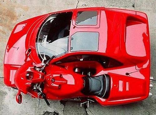 ferrari-car-bike-hybrid-02 Ferrari: мотоцикл-автомобиль