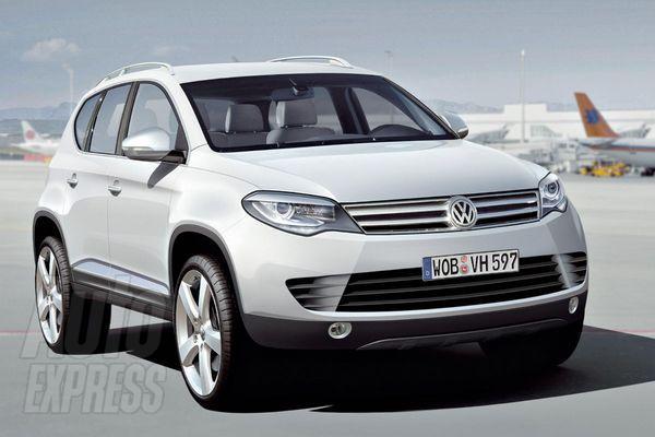 Volkswagen показал обновленный Touareg